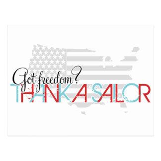 Cartão Postal Liberdade obtida? Agradeça a um marinheiro