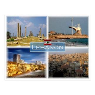 Cartão Postal Libra Líbano - Beirute -
