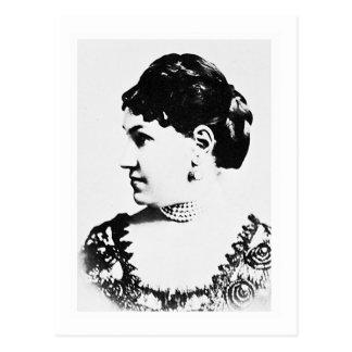 Cartão Postal Líder da Sra. William do ~ de Astor/sociedade de