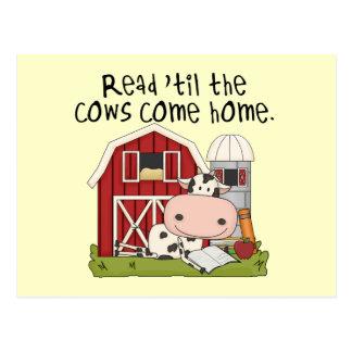 Cartão Postal Lido 'até as vacas venha em casa