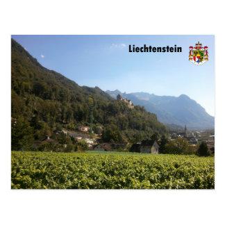 Cartão Postal Liechtenstein com brasões, Liechtenstein/with Coat