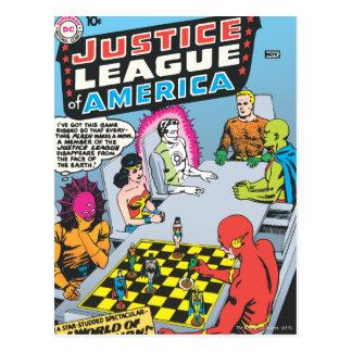 Cartão Postal Liga de justiça da edição #1 de América - novembro