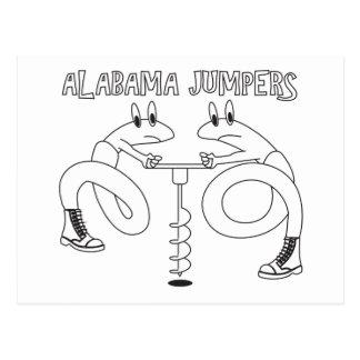 Cartão Postal Ligações em ponte de Alabama
