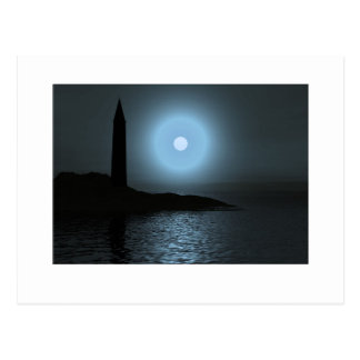 Cartão Postal Lighthouse1 enluarada
