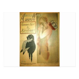 Cartão Postal Lillian Lorena, Raphael americano do domingo de