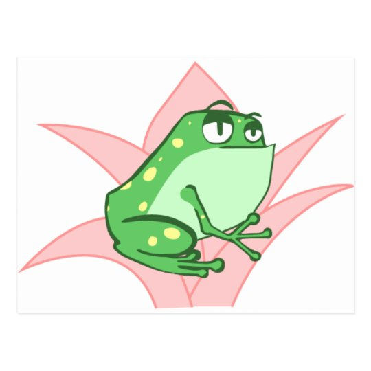 Cartão Postal Lilly Frog
