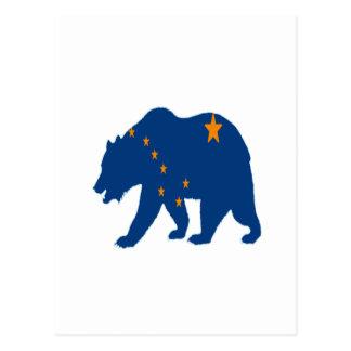 Cartão Postal Limite de Alaska