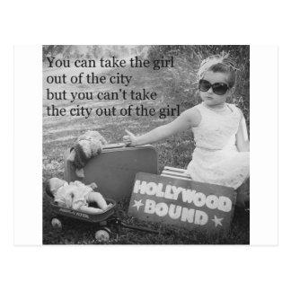 Cartão Postal Limite de Hollywood