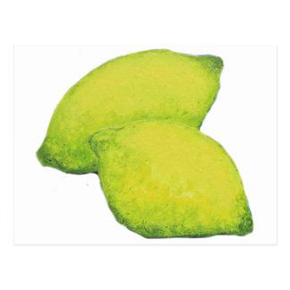 Cartão Postal Limões
