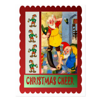 Cartão Postal Limpeza do Natal