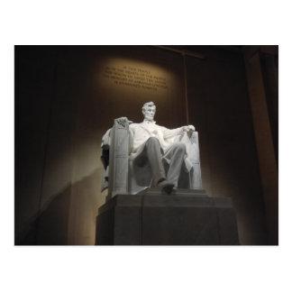 Cartão Postal Lincoln MemorialPostcard