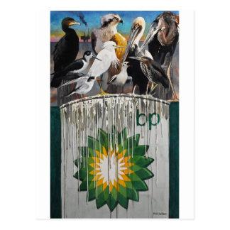 Cartão Postal Língua da galinha por aws de Paul Jackson, nws