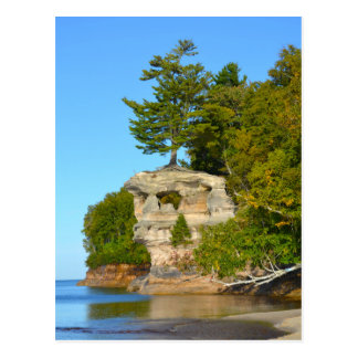 Cartão Postal Linha costeira do cartão/nacional do Lago Superior