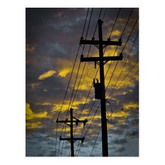 Cartão Postal Linha eléctrica de Nova Orleães