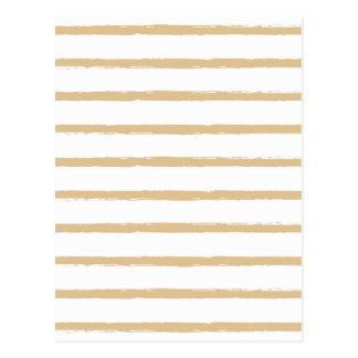 Cartão Postal Linhas ásperas brancas bege Textured teste padrão
