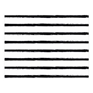 Cartão Postal Linhas ásperas brancas Textured teste padrão do