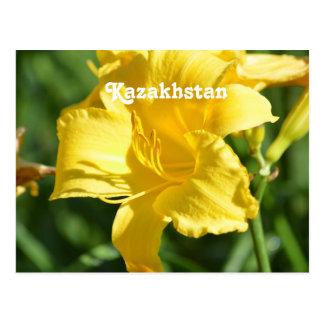 Cartão Postal Lírio de Kazakhstan