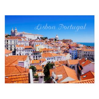 Cartão Postal Lisboa Portugal
