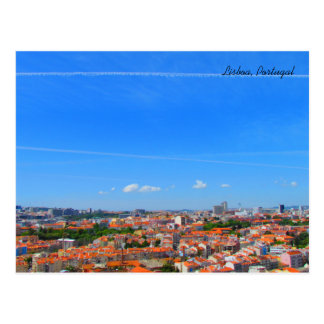 Cartão Postal Lisbon Skyline ~ Lisbon, Portugal