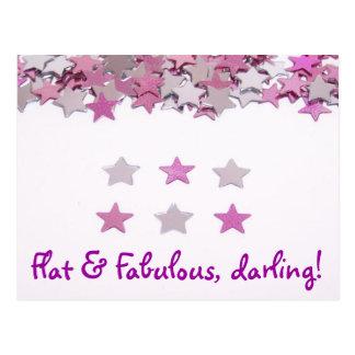 Cartão Postal Liso & fabuloso