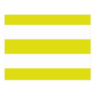 Cartão Postal listras amarelas