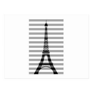 Cartão Postal Listras de Paris