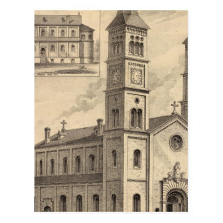Cartão Postal Litografia de St Paul, Minnesota