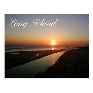 Cartão Postal Litoral de Long Island