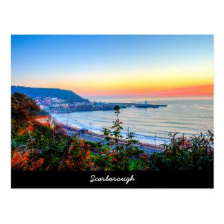 Cartão Postal Litoral de Scarborough