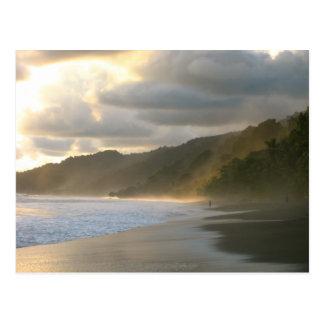 Cartão Postal Litoral do parque nacional de Cocovado