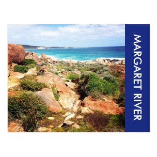 Cartão Postal litoral do rio de Margaret