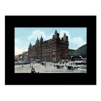 Cartão Postal Liverpool, hotel ocidental norte