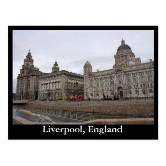 Cartão Postal Liverpool, Inglaterra