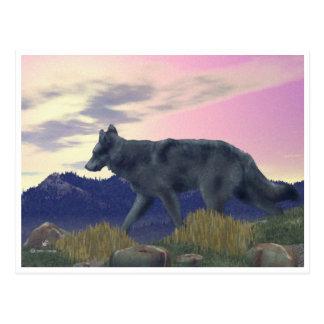 Cartão Postal Lobo alto do país