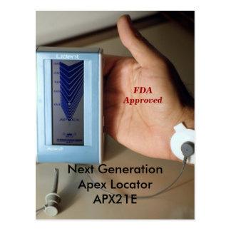 Cartão Postal Localizador seguinte APX21E de GenerationApex.