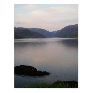 Cartão Postal Loch Assynt, Sutherland