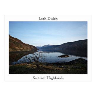 Cartão Postal Loch Duich, Scottish…