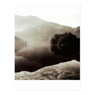 Cartão Postal Loch Katrine Scotland da cena