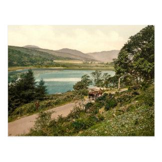 Cartão Postal Loch Loskin, Dunoon, Scotland