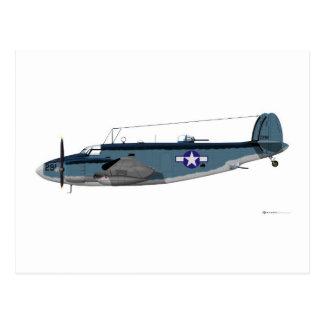 Cartão Postal Lockheed PV-1 Ventura