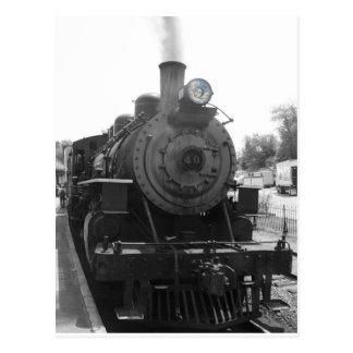 Cartão Postal locomotiva de vapor #40