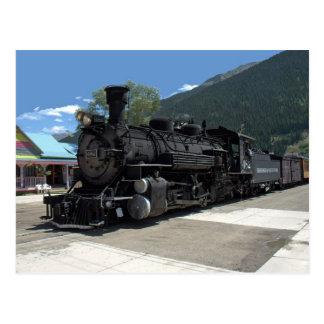Cartão Postal Locomotiva de vapor 482, Durango & Silverton