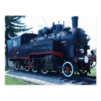 Cartão Postal Locomotiva velha