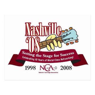 Cartão Postal Logotipo de 2008 da conferência