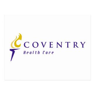 Cartão Postal Logotipo de Coventry