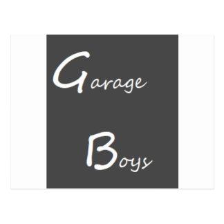 Cartão Postal Logotipo dos meninos da garagem