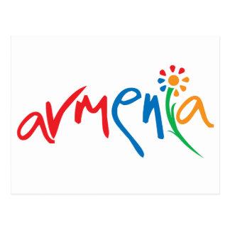 Cartão Postal Logotipo oficial arménio