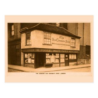 Cartão Postal Loja velha Londres da curiosidade de Charles