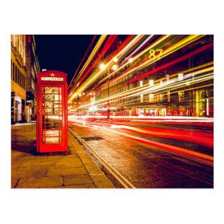 Cartão Postal London phonebooth