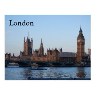 Cartão Postal Londres